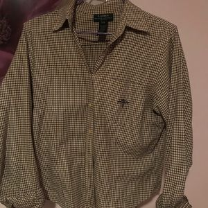 vintage women's ralph lauren button down